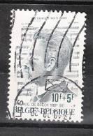 Belgio   -   1977.  De Boeck, Composer, Organist  Belgian Late '800 - Music