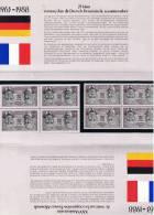 DOCUMENT OFFICIEL 25 ANNIVERSAIRE TRAITE COOPERATION ALLEMANDE 1963 1988 PREMIER JOUR PREMIER JOUR - Germany