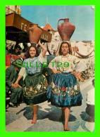 NAZARÉ, PORTUGAL - COSTUMES REGIONAIS - TRAVEL IN 1964 - CÔRES NATURAIS - - Leiria