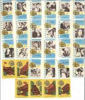 USSR (Russia) 28 Matchbox Labels 1984 Cinema Moscow Festivals 1959 - 1983 - Matchbox Labels