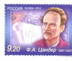 2012. Russia, Space, F. Tsander, Designer Of Space Rockets, 1v,  Mint/** - 1992-.... Federazione