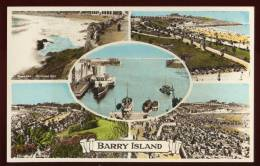 Cpa  Du Pays De Galles  Barry Island  Multi Vues    SAB22 - Glamorgan