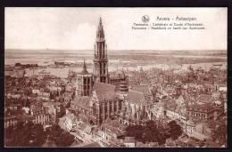 ANTWERPEN / ANVERS - Cathédrale Et Coude D'Austruweel - Hoofdkerk En Bocht Van Austruweel -Circulé - Circulated - 1935 . - Antwerpen