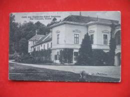 RAVNE NA KOROSKEM GUSTANJ:Grafl.von Thurnsches Schloss Streiteben Post Gutenstein - Slowenien