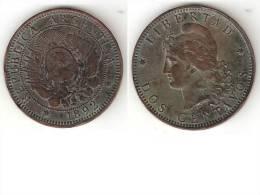Argentina 2 Centavos 1892  Km 33  Vf  * - Argentine