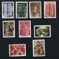 JOEGOSLAVIE  KUNST VAN JOEGOSLAVIE  1956  GESTEMPELD - 1945-1992 Socialistische Federale Republiek Joegoslavië