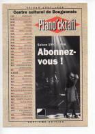 Ref 106   : CPM Promo Cart'com BOUGUENAIS Piano'cktail 1997 - Bouguenais