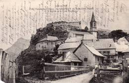04 Vallée De L´Ubaye Saint Vincent Du Lauzet L'Eglise Et Le Fort - Non Classificati