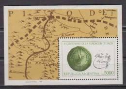 ARGENTINE    1982     BF  N°  29    COTE   3.50   EUROS - Blocs-feuillets
