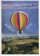 Ref 106   : CPM PROMO Pub Avion Aviation Cart'com Vols En Montgolfière Airshow - Montgolfières