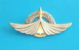 FOREIGN LEGION ( FRANCE ) - Large Metal Insignia MILAN Military Sniper * Légion étrangère Insigne Tireur Milan - Army