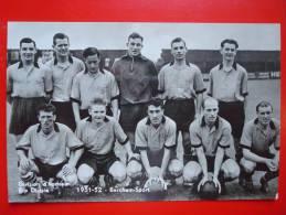FOOTBALL BELGIUM 1951-52 / BERCHEM SPORT / ERE DIVISIE / DIVISION D'HONNEUR - Soccer