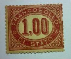 ITALIA - SERVIZIO 1875: Sassone 5, * MH - FREE SHIPPING ABOVE 10 EURO - Servizi