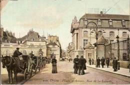 21 DIJON Place D'Armes  Rue De La Liberté - Dijon