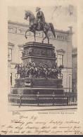 Germany Deutsches Reich PPC Berlin Denkmal Friedrich Des Grossen BERLIN C. 1903 Einfach Rückseite (2 Scans) - Allemagne