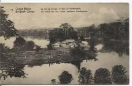 Belgisch Congo Belge CP Vue 17 Entier 5c C.Elisabethville 1913  AP307 - Entiers Postaux