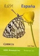 Spain MNH Self-adhesive Stamp - Schmetterlinge