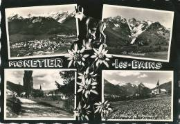 CPSM 05 MONETIER LES BAINS JOLIE MULTIVUE - France