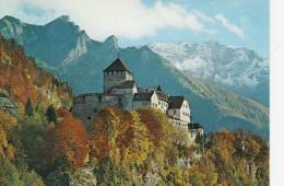 Liechtenstein   Vaduz  Castle - Chateau - Schloss  A-485 - Liechtenstein
