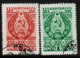 RUSSIA   Scott #  1318-9  VF USED - Usati