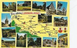 Gernany  Lipperland And Views   A-512 - Landkarten