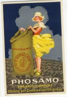 PHOSAMO  - Engrais Complet  - Superbe Carte.par Vix - Advertising