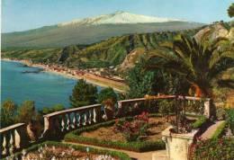 TAORMINA-PANORAMA CON L,ETNA - Messina