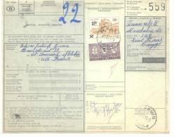 D786 -België  SP 404P3 Spoorweg Chemin De Fer   Document  Met Stempel ST KRUIS - 1952-....