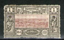 N° 6*_dentelé (par Philatéliste???) - Costa Francesa De Somalia (1894-1967)