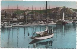 Cherbourg L'avant-port Et La Montagne Du Roule - Cherbourg