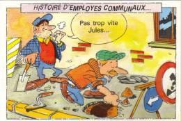 Histoire D Employes Communaux - Humour