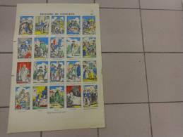 Chromo-histoire De Napoleon Fabrique D´images De Gangel A Metz -35x50 Cm Environ - Fiches Illustrées