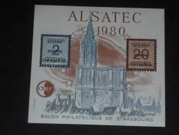FRANCE YT BLOC CNEP 1 ** - ALSATEC ALSACE CATHEDRALE STRASBOURG - - CNEP