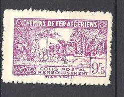 ALGERIE  COLIS POSTAUX N° 154 SANS CONTROLE DES RECETTES NEUF** LUXE - Paquetes Postales