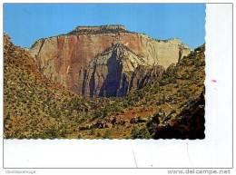 WEST  TEMPLE ALTAR OF SACRIFICE ZION NATIONAL PARK UTAH - Zion