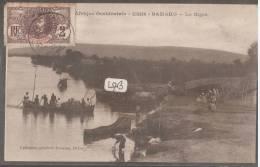 SOUDAN-----BAMAKO--Le Niger---barques----animé- -- - Sudan