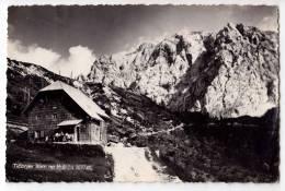 EUROPE SLOVENIA TICARJEV MOUNTAIN HOME ON VRSIC 1610 M BIG POSTCARD 1959. - Slovenia