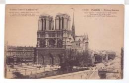 75 PARIS  Notre Dame De Paris  Vue D' Ensemble - Notre Dame De Paris