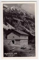 EUROPE SLOVENIA VALVAZORJEV MOUNTAIN HOME UNDER STOL 1180 M RADOVLJICA OLD POSTCARD - Slovenia