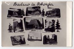 EUROPE SLOVENIA POHORJE VARIOUS PARTS OLD POSTCARD - Slovenia