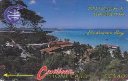 Antigua, ANT-6C, Dickenson Bay, 2 Scans.   6CATC . - Antigua And Barbuda
