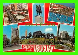 URUGUAY -SALUDOS DESDE URUGUAY - 6 MULTIVIEWS - MAPA - - Uruguay