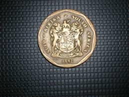 Sudáfrica 50 Céntimos 1992 (4747) - Sudáfrica