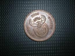 Sudáfrica 5 Céntimos 2004 (4777) - Sudáfrica