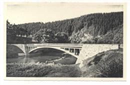 Houffalize. Pont De Rensiwez Et L´Ourthe. Brug Van Rensiwez En De Ourthe. - Bertogne