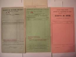SOCIETE DU FAMILISTERE DE GUISE FEUILLES ASSURANCES MUTUELLES CONTRE LA MALADIE,SOCIETE DE SECOURS MUTUELS,ORDONNANCE DE - Documents Historiques