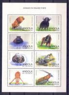 ANGOLA 1998  Wild Animals MNH - Angola