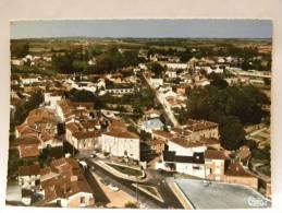 CPSM 49 Maine Et Loire - Montfaucon - Vue Générale Et Aérienne - Montfaucon