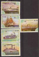SAO TOMÉ AND PRINCIPE  Ships - Bateaux