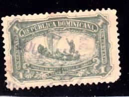 Dominican Republic      6 Fine Used, - Dominican Republic
